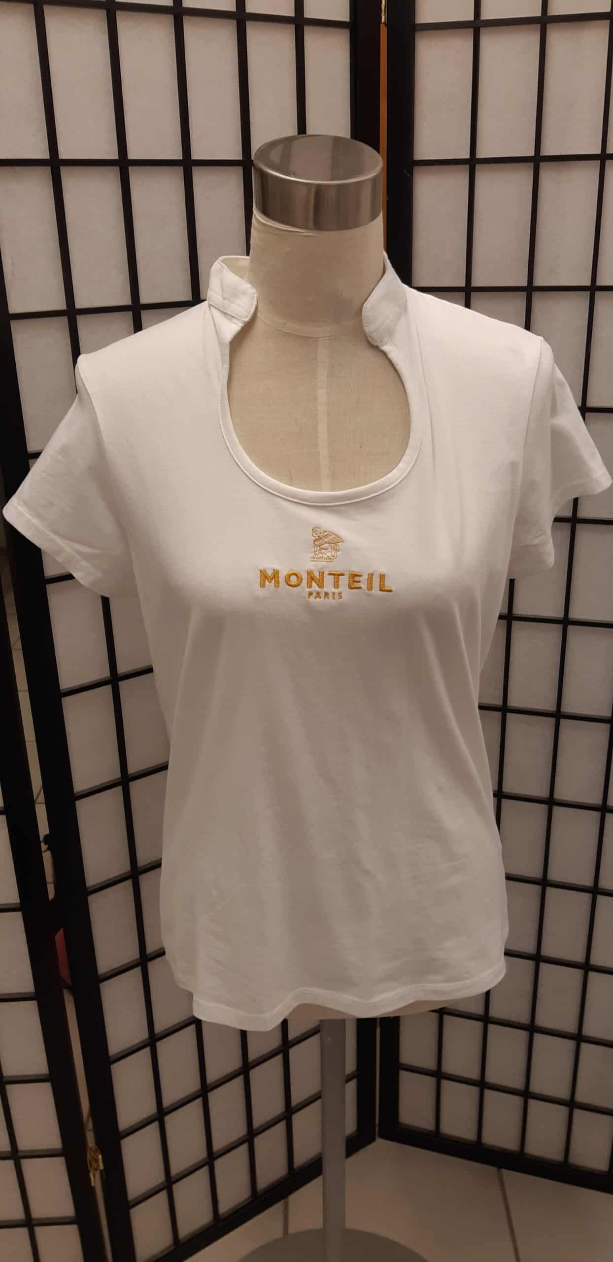 Monteil T paita valkoinen